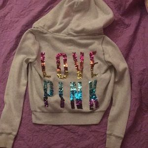 Victoria Secret pink LIMITED EDITION hoodie RARE